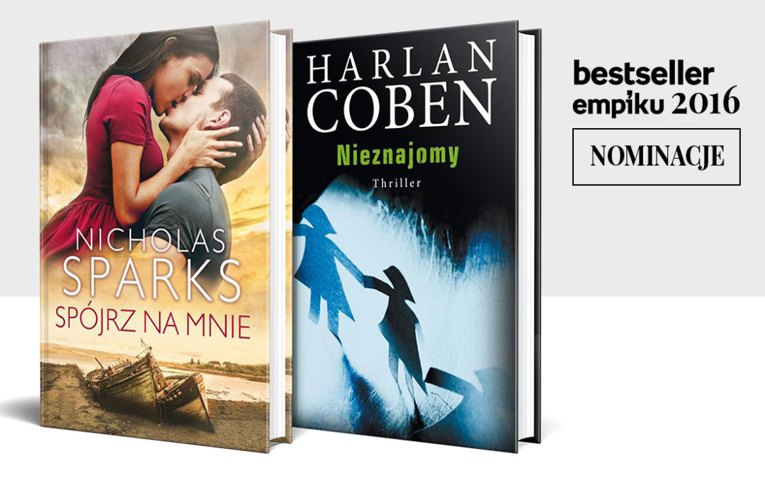 Nominacje do Nagrody Bestsellery EMPIKu 2016