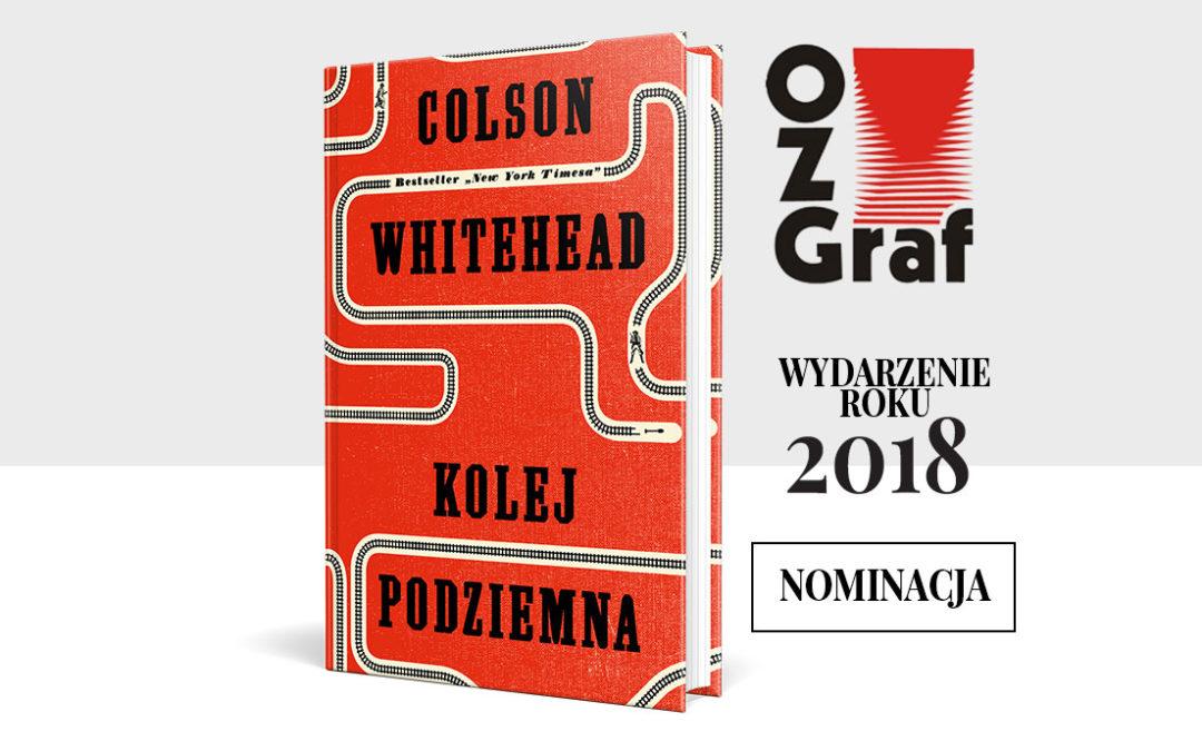 Nominacja do nagrody OZGraf w kategorii Wydarzenie wydawnicze