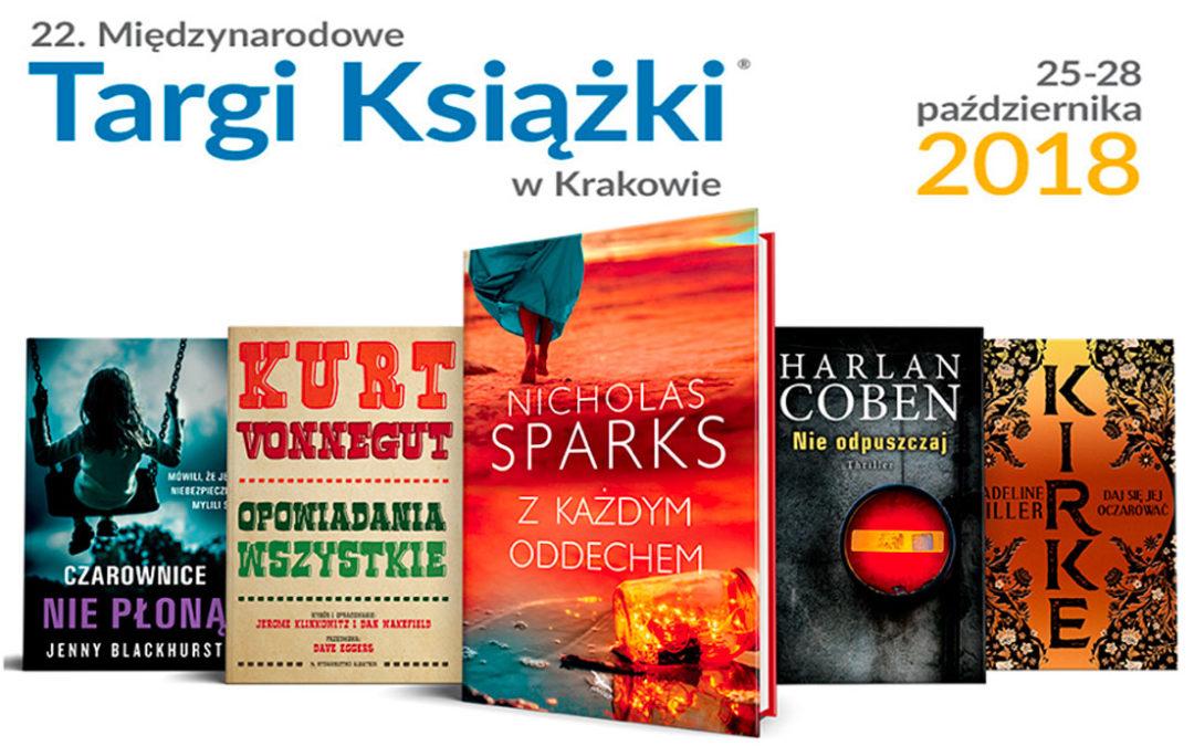 Targi Książki w Krakowie rozpoczęte!!
