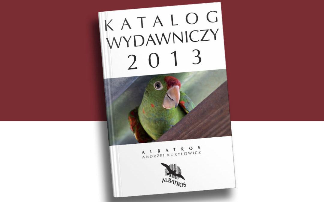Katalog wydawniczy 2013