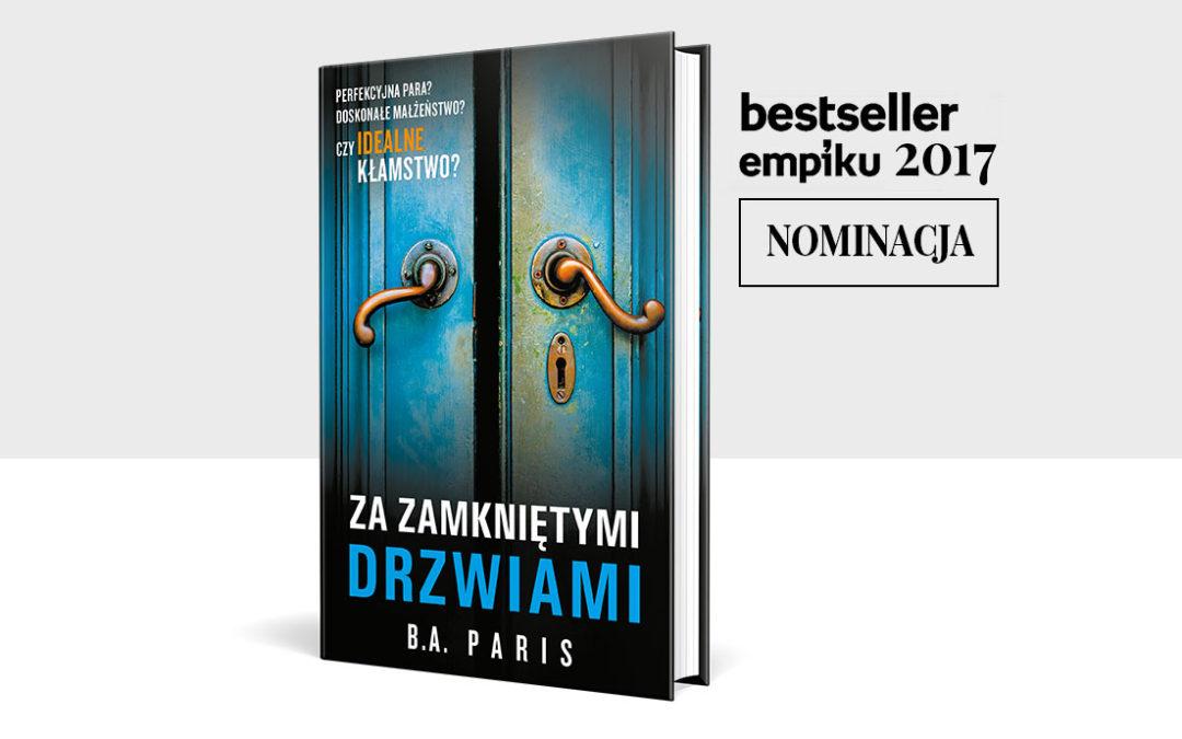 Nominacja do Nagrody Bestsellery EMPIKu 2017