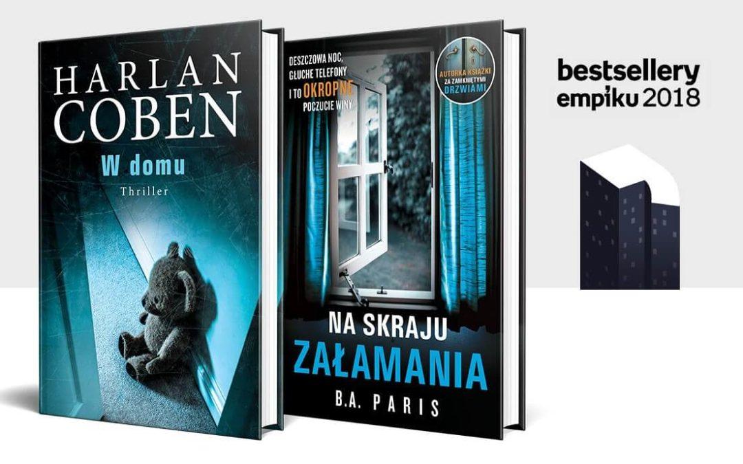 Plebiscyt Bestsellery Empiku 2018 – nominacje