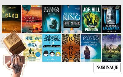11 nominacji do tytułu Książka Roku 2018!
