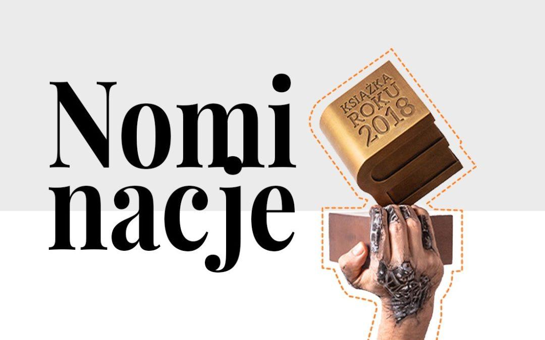 Nominacje Lubimyczytać.pl: Książka Roku 2018