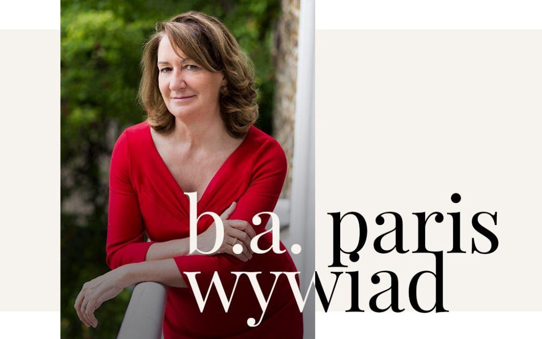 Wywiad z B.A. Paris.