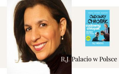 """Pokaz filmu i spotkanie z R. J. Palacio, autorką książki """"Cudowny chłopak"""" w kinie Atlantic."""