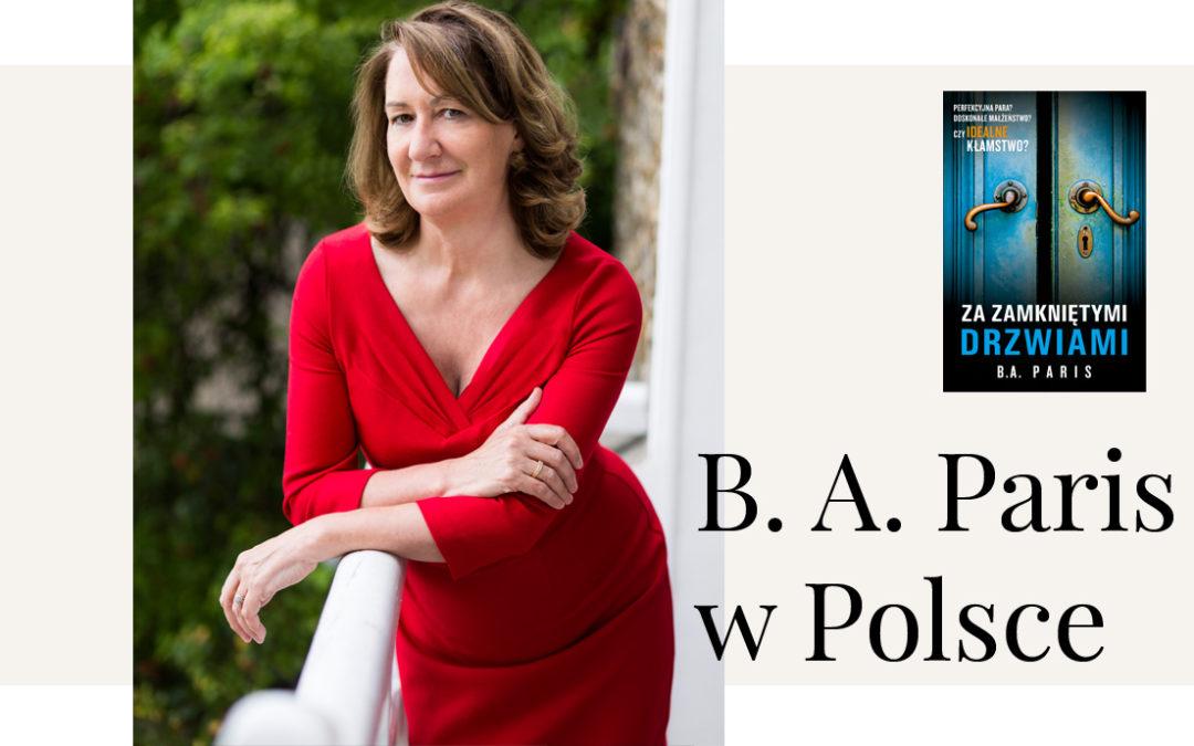 """Autorka bestsellerowego thrillera """"Za zamkniętymi drzwiami"""" spotka się z czytelnikami."""