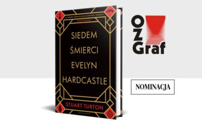 Nominacja do nagrody OZGraf w kategorii Dobra i wymagająca lektura