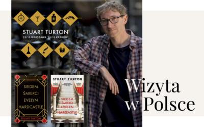 """Autor książki """"Siedem śmierci Evelyn Hardcatle"""" odwiedzi Polskę!"""