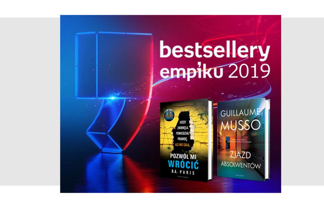 Plebiscyt Bestsellery Empiku 2019 – nominacje