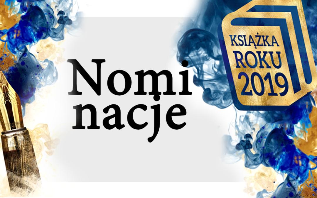 12 nominacji do tytułu Książka Roku 2019!