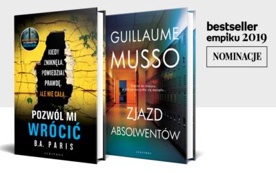 Nominacje Bestsellery EMPIKu 2019