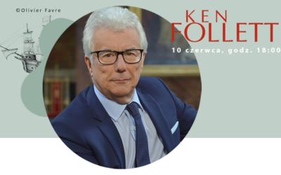 Spotkanie online na żywo z Kenem Follettem!