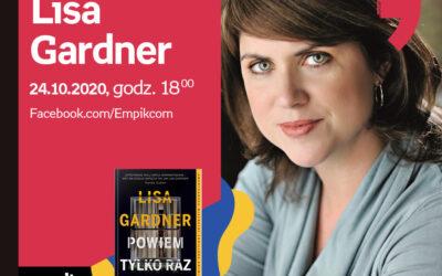 Wirtualne Targi Książki. Apostrof: Spotkanie z Lisą Gardner – Sobota 24 października, godz. 18:00