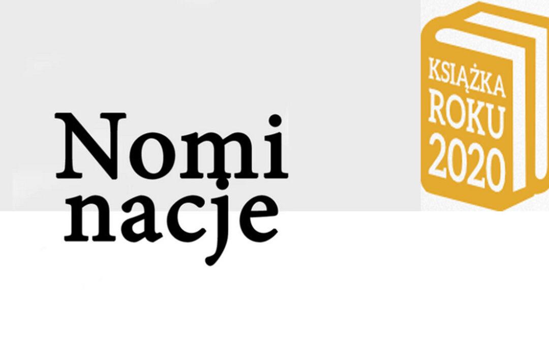 Nominacje Lubimyczytać.pl: Książka Roku 2020