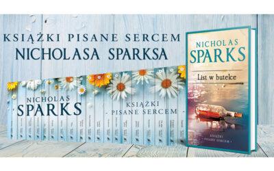 Nicholas Sparks. Książki pisane sercem – już od dziś w sprzedaży!